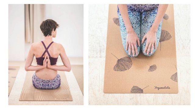 Yogamatata les tapis de yoga éco-responsables en liège et caoutchouc naturel